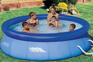 Summer Escapes 10x30 Quick Set Ring Pool