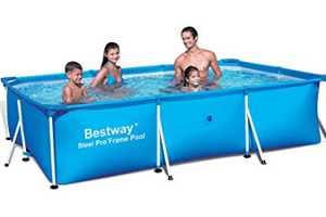 Bestway 118x79 Deluxe Splash Frame Pool