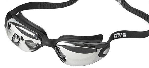 Incite Elites Swim Goggles with Ear & Nose Plugs